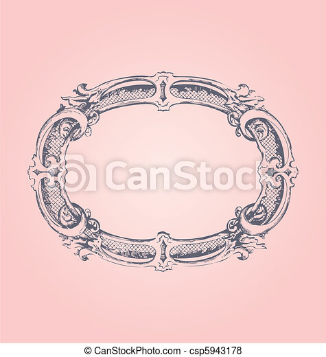 Antique Frame - csp5943178