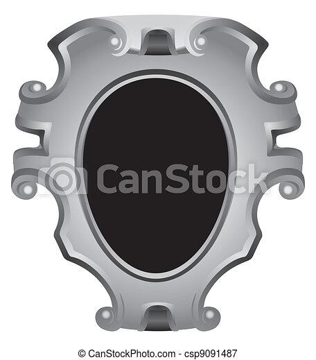 Antique frame - csp9091487