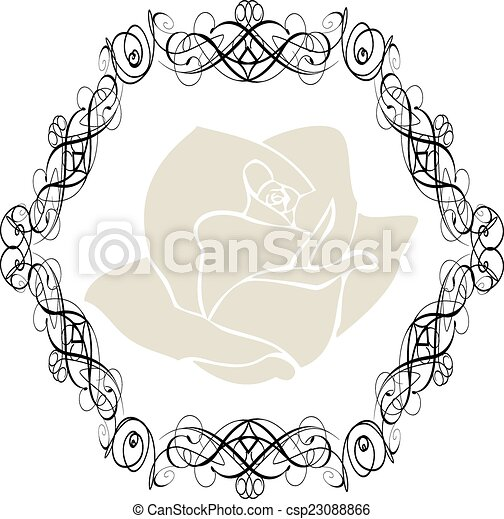 Antique Frame ornaments Vectors3 - csp23088866