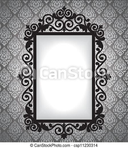 Antique frame - csp11230314