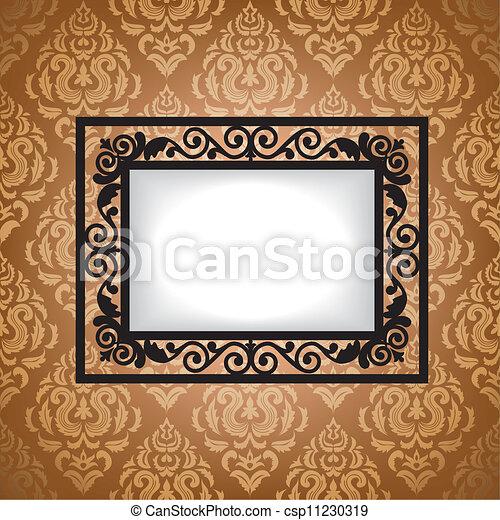 Antique frame - csp11230319