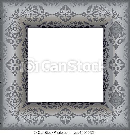 antique frame - vector illustratio - csp10910824