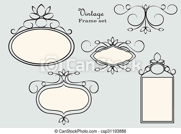 antique frame drawing. Antique Frames - Csp31193886 Antique Frame Drawing