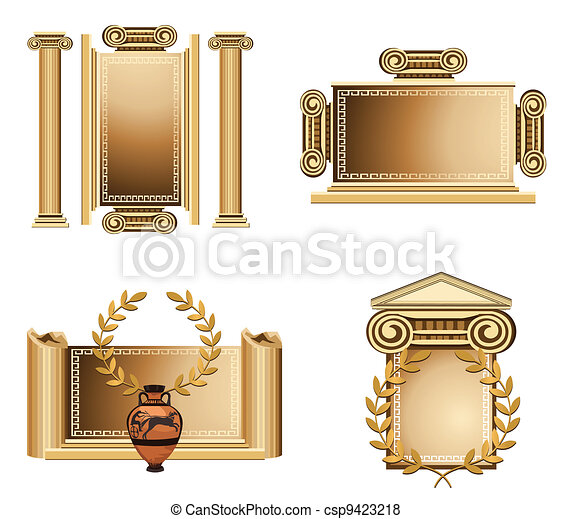 Antique Frames - csp9423218