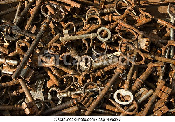 antique-keys - csp1496397