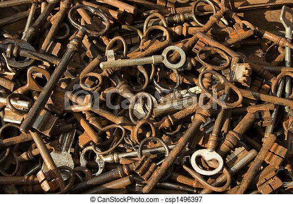 antique-keys - csp1496397