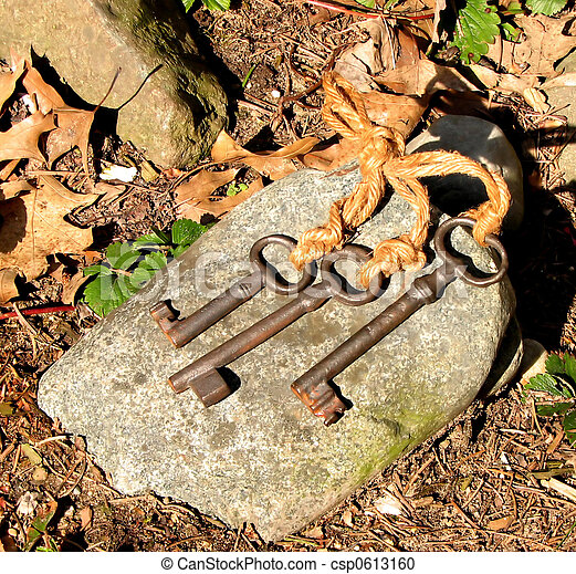 Antique Keys - csp0613160