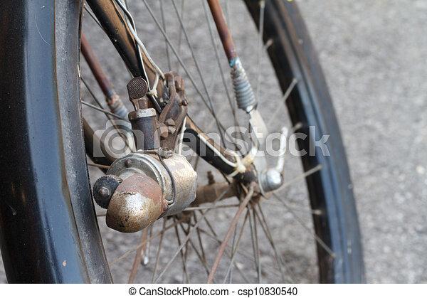 Antique Ladies Bike - csp10830540