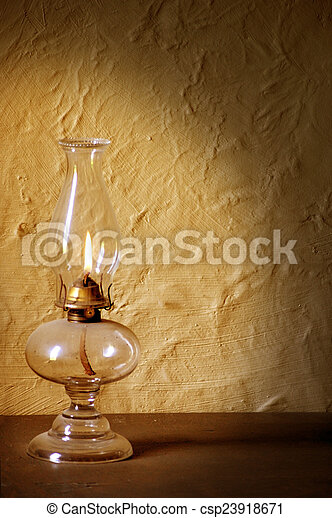 Antique Lamp - csp23918671