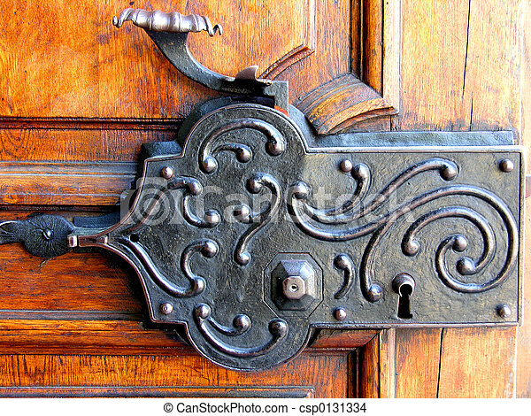 Antique Lock Old Door Locking System Stock Photo Search Photographs And Clipart Photos