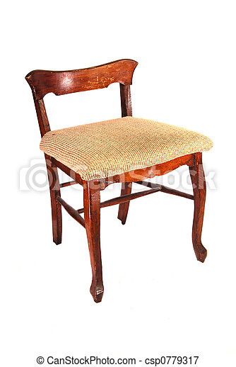 Antique Low Back Chair   Csp0779317