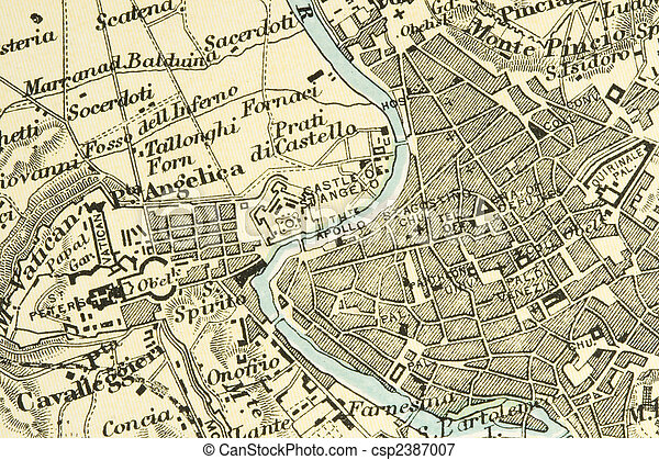 Antique Map - csp2387007