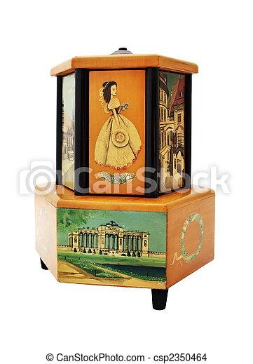 Antique Music Box - csp2350464