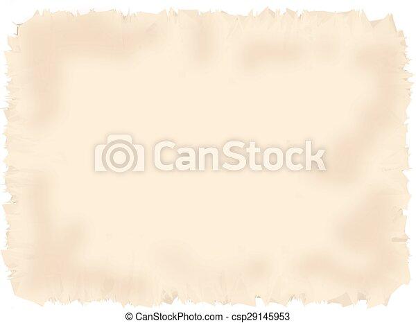 Antique parchment paper texture. - csp29145953