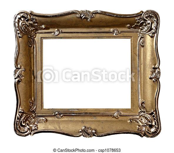 Antique Picture Frame - csp1078653