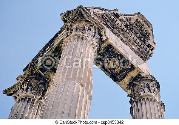Antique Portico - csp8453342