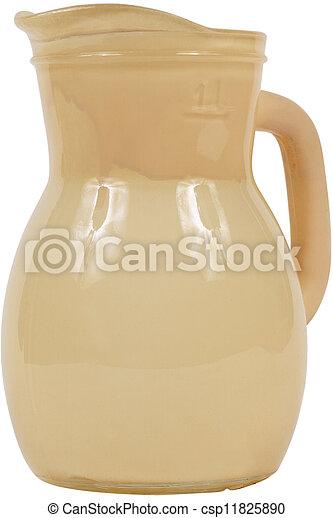Antique Pottery jug - csp11825890