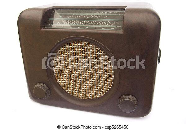 Antique radio - csp5265450