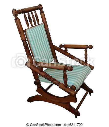 Antique Rocking Chair - csp6211722