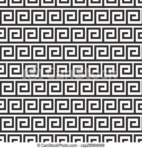 antique seamless pattern - csp28984068