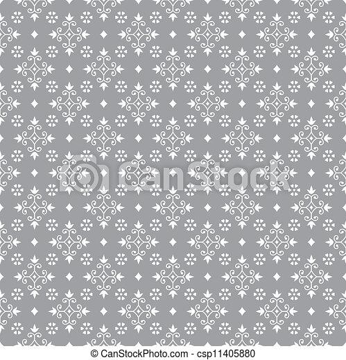Antique seamless pattern - csp11405880
