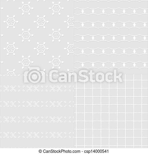 Antique seamless pattern - csp14000541