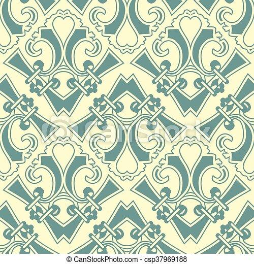 antique seamless pattern - csp37969188