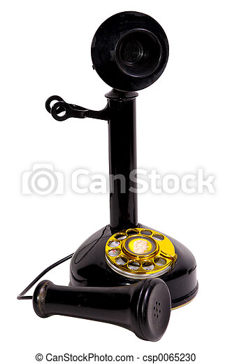 Antique Telephone - csp0065230