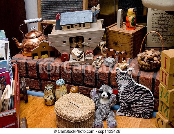 Antique Toys - csp1423426