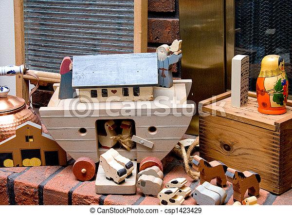 Antique Toys - csp1423429