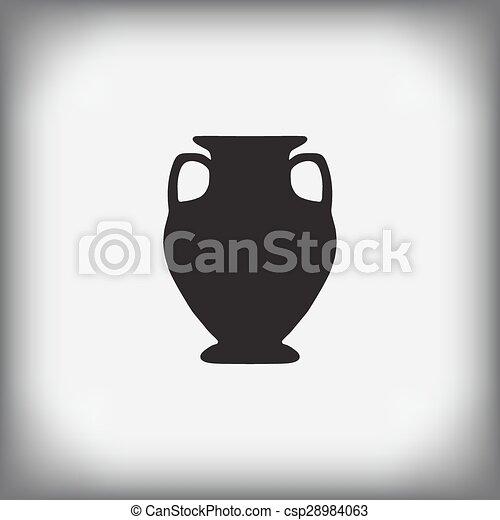 antique vase  - csp28984063