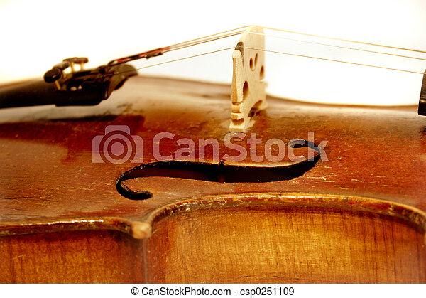 Antique Violin - csp0251109