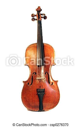 Antique Violin - csp0276370