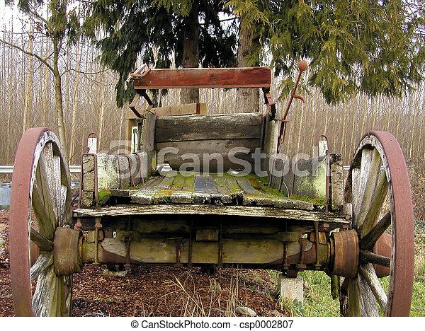 Antique Wagon - csp0002807