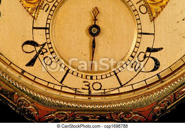 Antique watch face - csp1698788