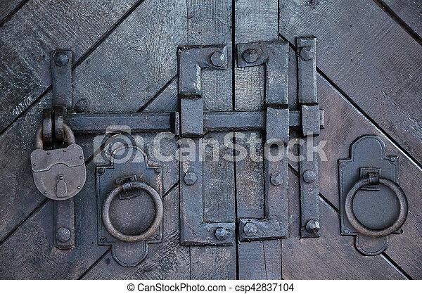 Antique Wrought Iron Door Hardware   Csp42837104