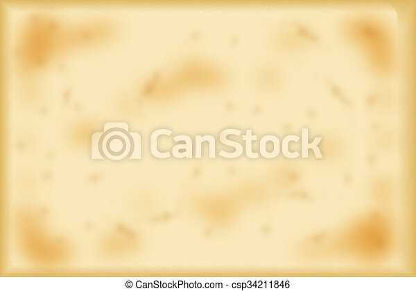 Antique Yellowish Parchment - csp34211846