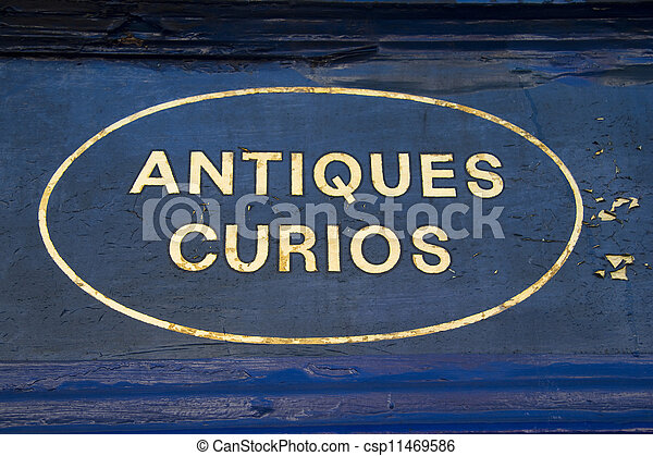 Antiques and Curios - csp11469586