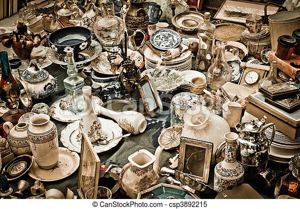 Antiques - csp3892215