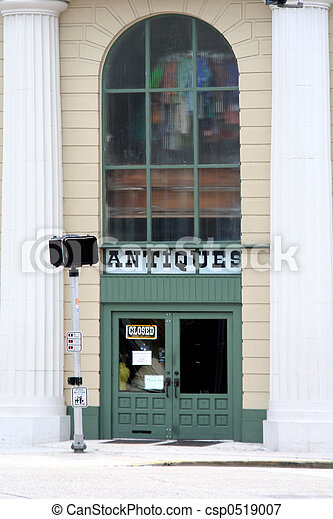Antiques Store - csp0519007