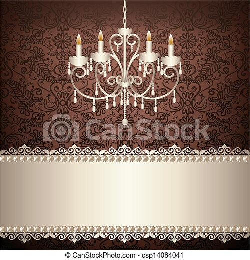 antiquité, lustre - csp14084041