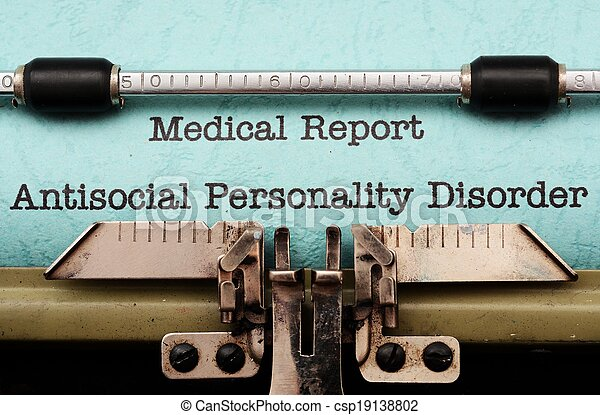 Antisocial personality disorder - csp19138802