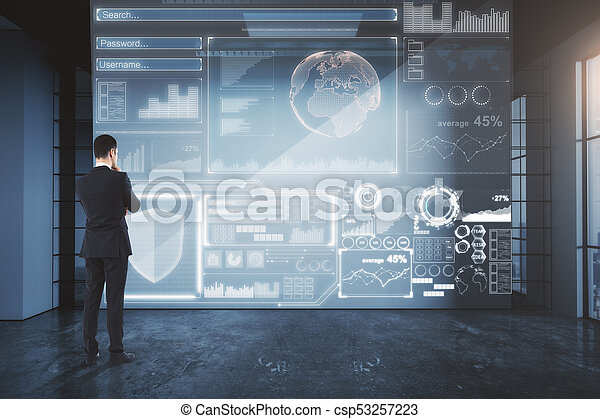 Antivirus and communication concept - csp53257223