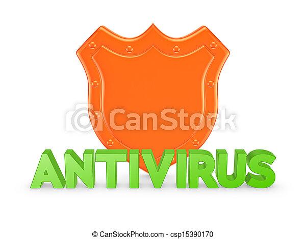 Antivirus concept. - csp15390170
