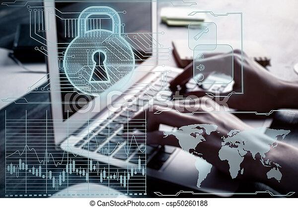 Antivirus concept - csp50260188
