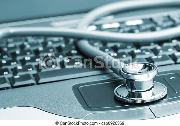 antivirus concept - csp0920369