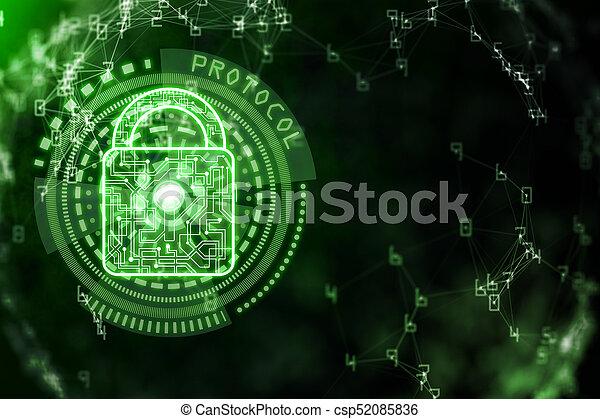 Antivirus concept - csp52085836
