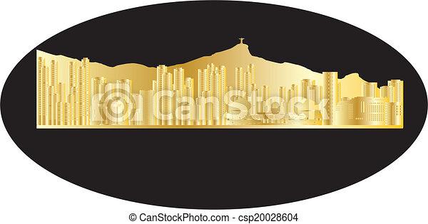 antwerp belgium city in gold - csp20028604