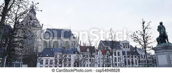 Antwerp cityscape - csp54848828