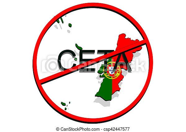 Anty Ceta Comprehensive Economic And Trade Agreement On White